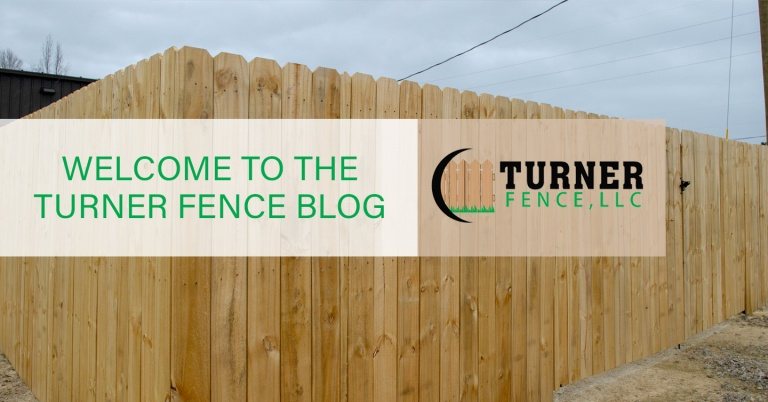 Welcome to the Turner Fence Blog