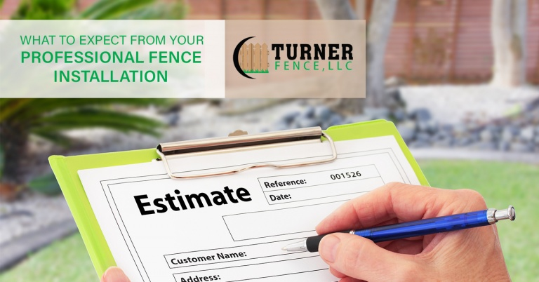 What to Expect from Your Professional Fence Installation