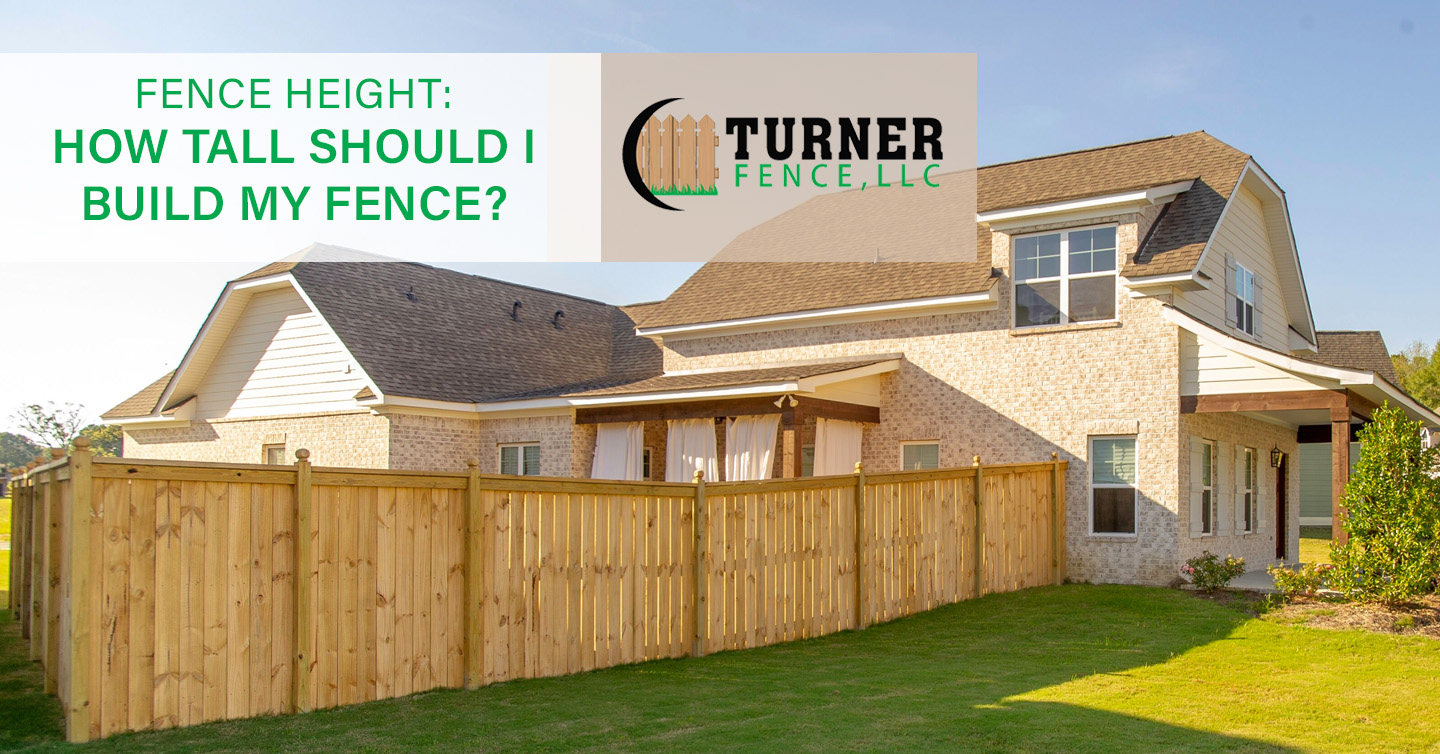 You are currently viewing Fence Height: How Tall Should I Build My Fence?