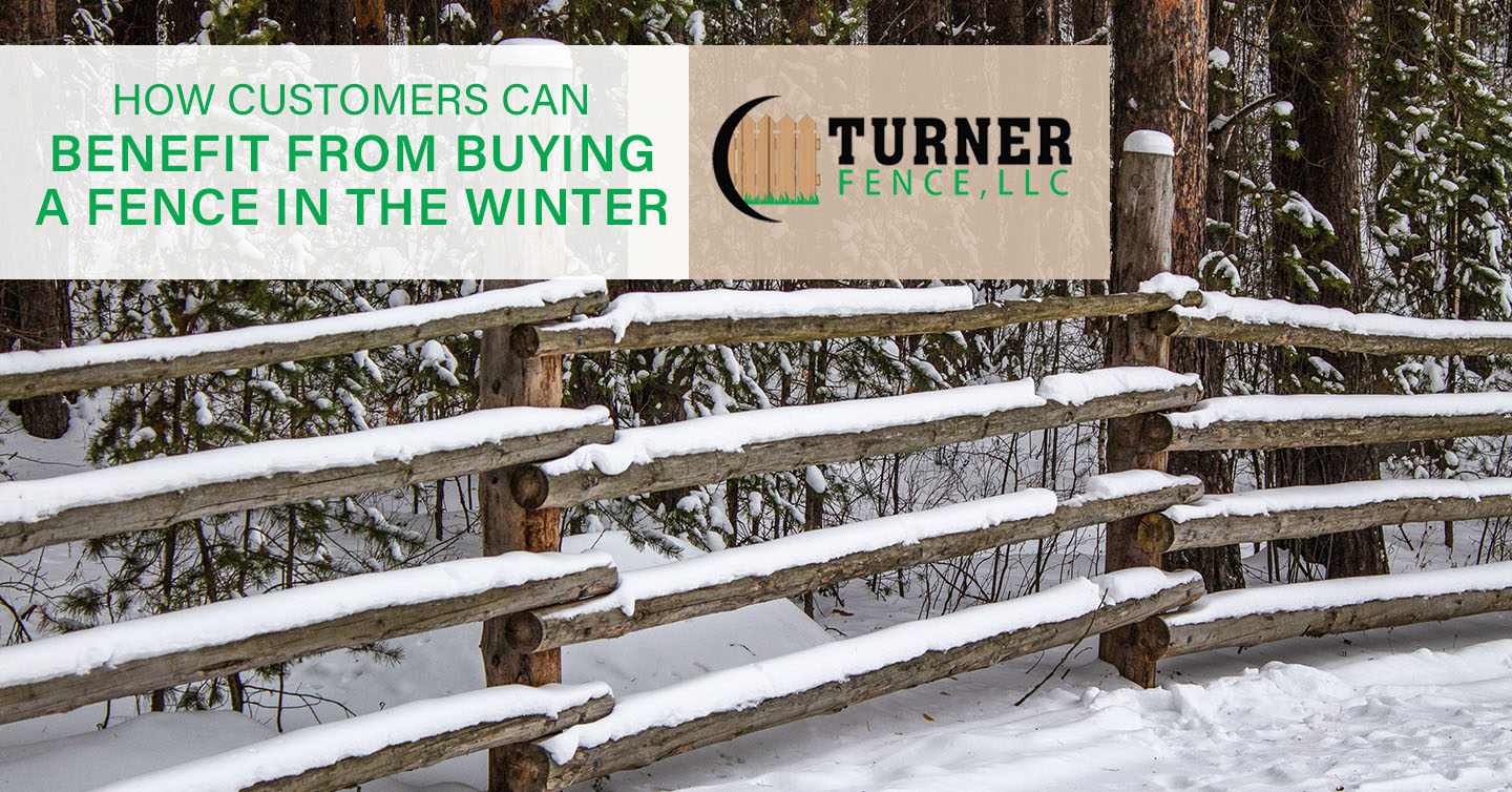 You are currently viewing How Customers Can Benefit From Buying a Fence in the Winter