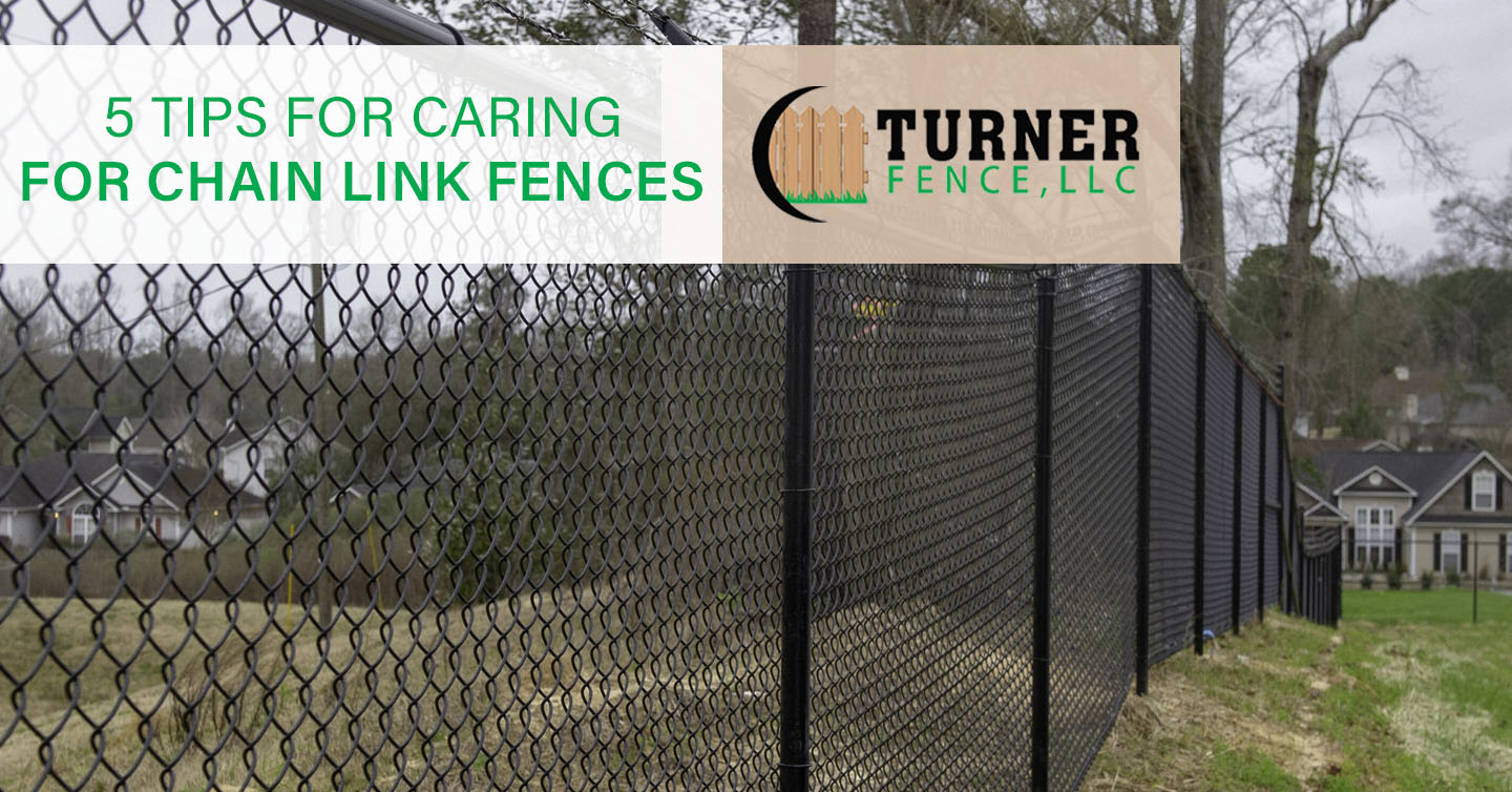 5 Tips for Caring for Chain Link Fences