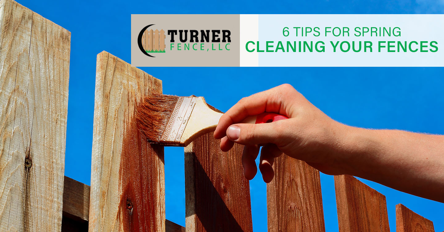 6 Tips for Spring Cleaning Your Fences