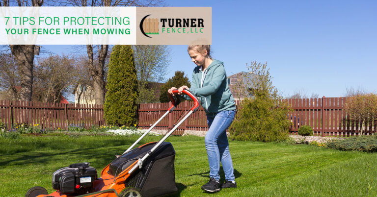 7 Tips for Protecting Your Fence When Mowing