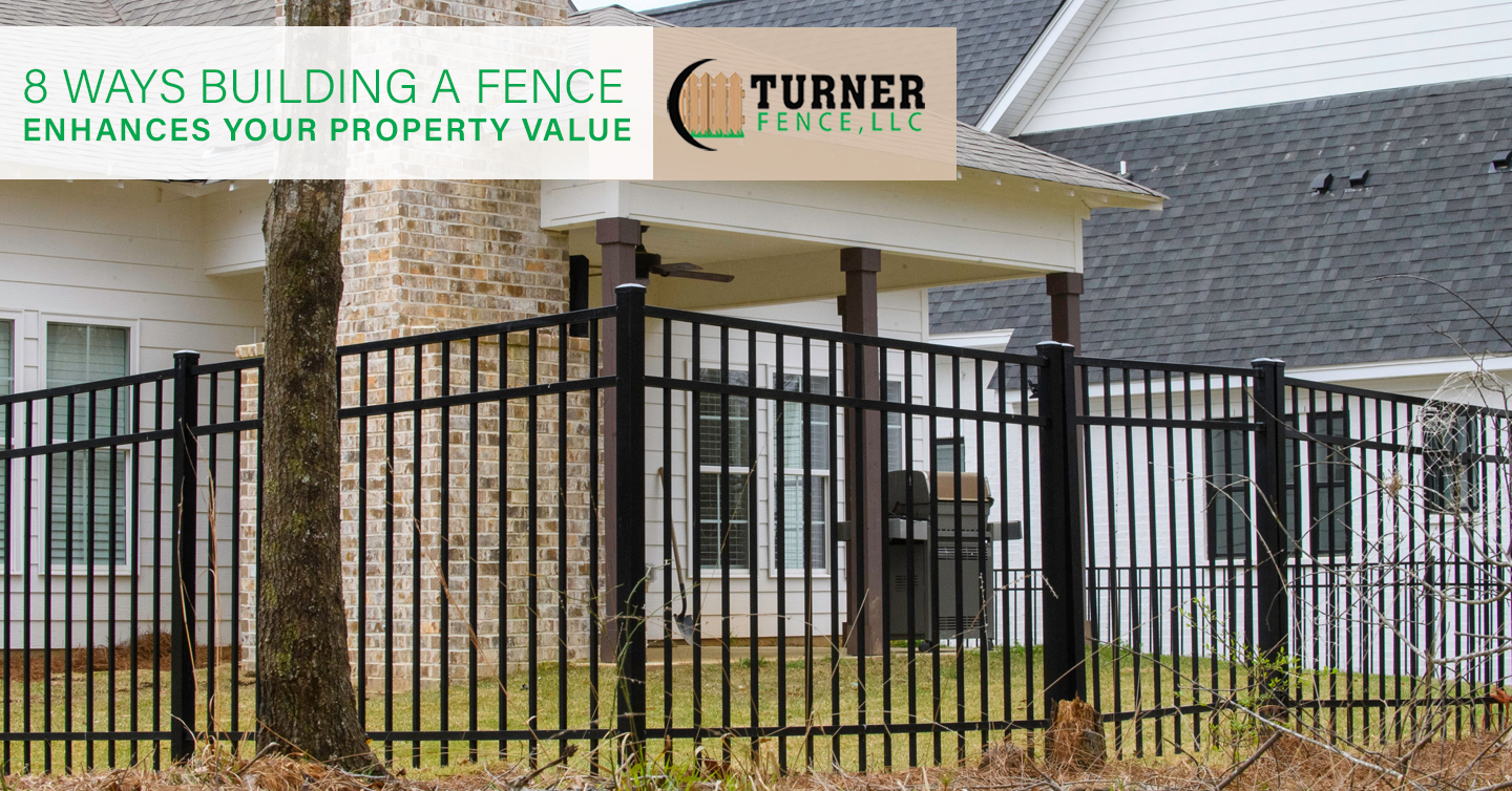 Read more about the article 8 Ways Building a Fence Enhances Your Property Value