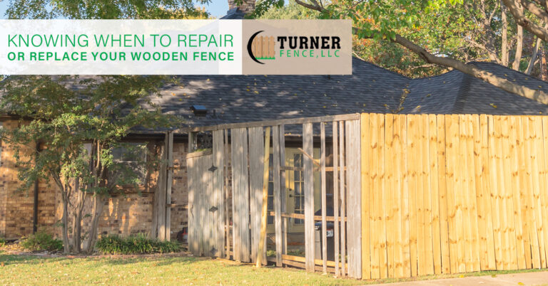 Read more about the article Knowing When to Repair or Replace Your Wooden Fence